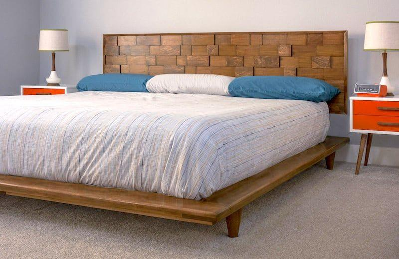 """<p>Making this mod poplar headboard does take some know-how and time, but the payoff is completely worth it. Just look how gorgeous it is!</p><p><strong>Get the tutorial at <a href=""""https://diycandy.com/mid-century-modern-diy-headboard/"""" target=""""_blank"""">DIY Candy</a>.</strong></p><p><a class=""""body-btn-link"""" href=""""https://www.amazon.com/Ryobi-Table-Saw-Folding-Stand/dp/B078TPSB78?tag=syn-yahoo-20&ascsubtag=%5Bartid%7C10050.g.31132733%5Bsrc%7Cyahoo-us"""" target=""""_blank"""">SHOP SAWS</a></p>"""