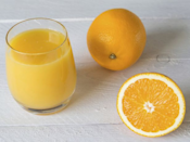 <p>Citrus fruits are very acidic, and that's problematic if you have reflux or a sensitive bladder. Try eating a whole piece of fruit, such an apple, instead. The carbohydrates can actually help your sleep, while the fiber helps you absorb the sugar more slowly.</p>