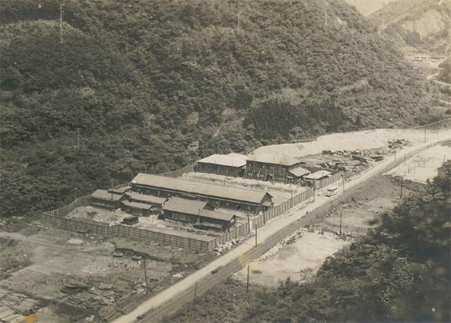 """<p class=""""MsoNormal"""" style="""" """"><span>Ohashi Prison Camp in Camaica, Japan where George MacDonell was held prisoner. The United States' Marines rescued Canadian Prisoners from this camp on September 15, 1945. Photo courtesy of <a href=""""http://www.thememoryproject.com/stories/264:george-macdonell/"""" target=""""_blank"""">Historica-Dominion Institute</a>.</span></p>"""