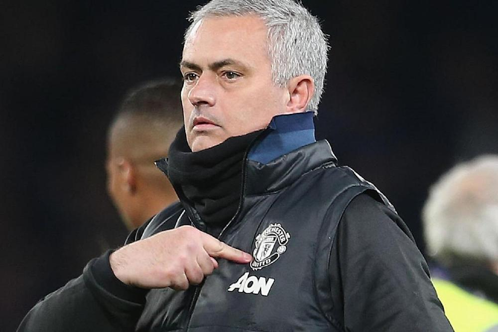 Jose Mourinho's Red Devils are through to the last eight: Man Utd via Getty Images