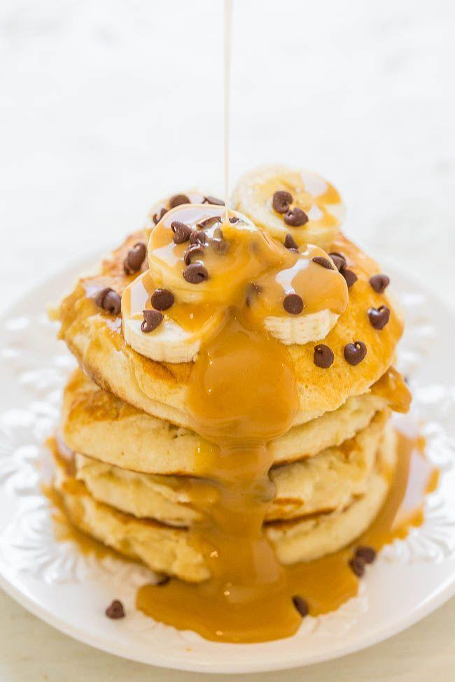 """<p>These protein pancakes are just as good for dinner as they are for breakfast. Trust me, I've done it.</p><p><a class=""""link rapid-noclick-resp"""" href=""""https://www.averiecooks.com/peanut-butter-banana-protein-pancakes/"""" rel=""""nofollow noopener"""" target=""""_blank"""" data-ylk=""""slk:GET THE RECIPE"""">GET THE RECIPE</a></p><p><em>Per serving: 478 calories, 20 g fat (8 g saturated), 207 mg sodium, 61 g carbs, 4 g fiber, 43 g sugar, 23 g protein</em></p>"""