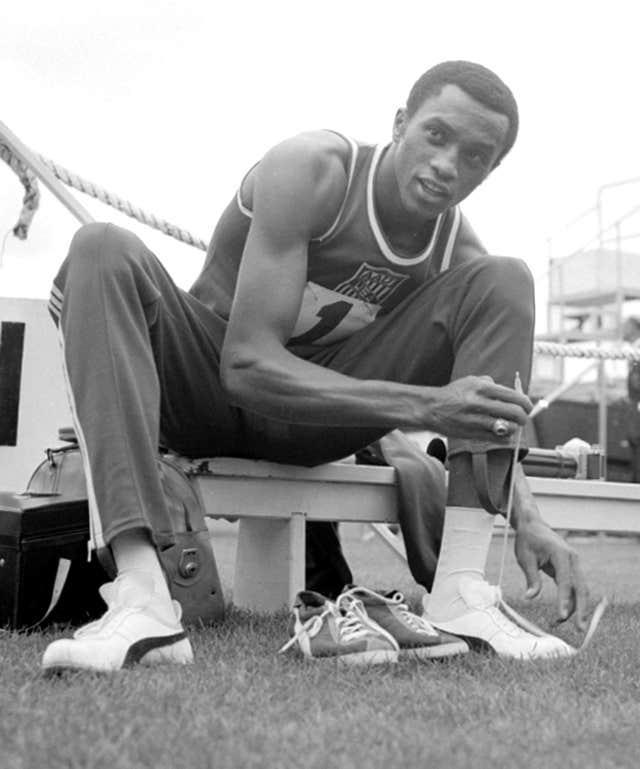 Athlete Tommie Smith