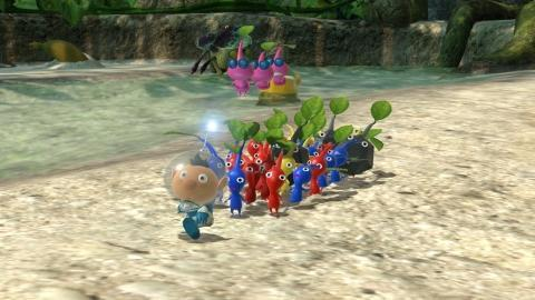 Launch Sequence Initiated Pikmin 3 Deluxe Lands On Nintendo Switch On Oct 30
