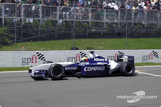 "2001: Williams-BMW FW23 <span class=""copyright"">BMW AG</span>"