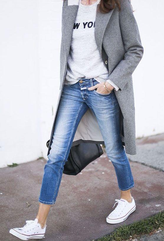 """<p>We hear your, """"Aren't those jeans too small for her?', nope. Say hello to the latest jean trend. Show off that ankle for a very unexpected stylish look.<i><a href=""""https://uk.pinterest.com/pin/161637074104991996/"""">[Photo: Pinterest]</a></i></p>"""
