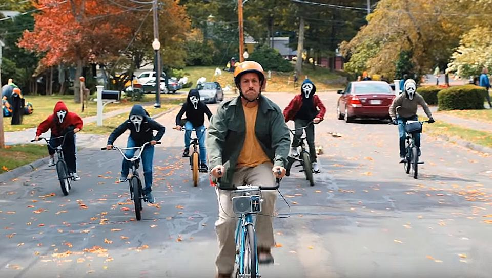 Adam Sandler in Hubie Halloween (Credit: Netflix)