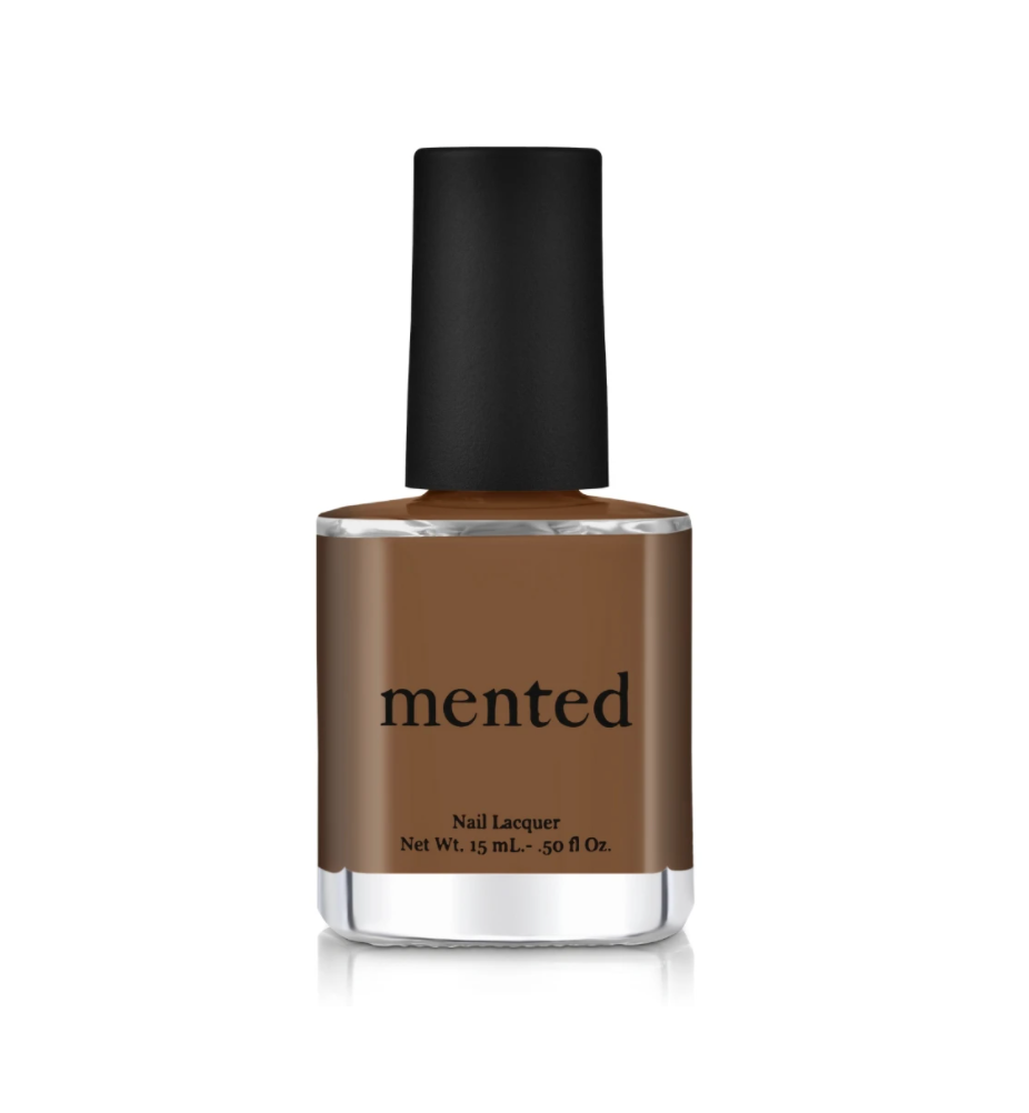 """<p><strong>Mented Cosmetics</strong></p><p>mentedcosmetics.com</p><p><strong>$6.00</strong></p><p><a href=""""https://www.mentedcosmetics.com/collections/nail/products/nude-nail-lacquer?variant=36718173512"""" rel=""""nofollow noopener"""" target=""""_blank"""" data-ylk=""""slk:Shop Now"""" class=""""link rapid-noclick-resp"""">Shop Now</a></p><p>Shades of brown look good on everyone. But at least whenever you look down, you instantly think of sweet treats. </p>"""