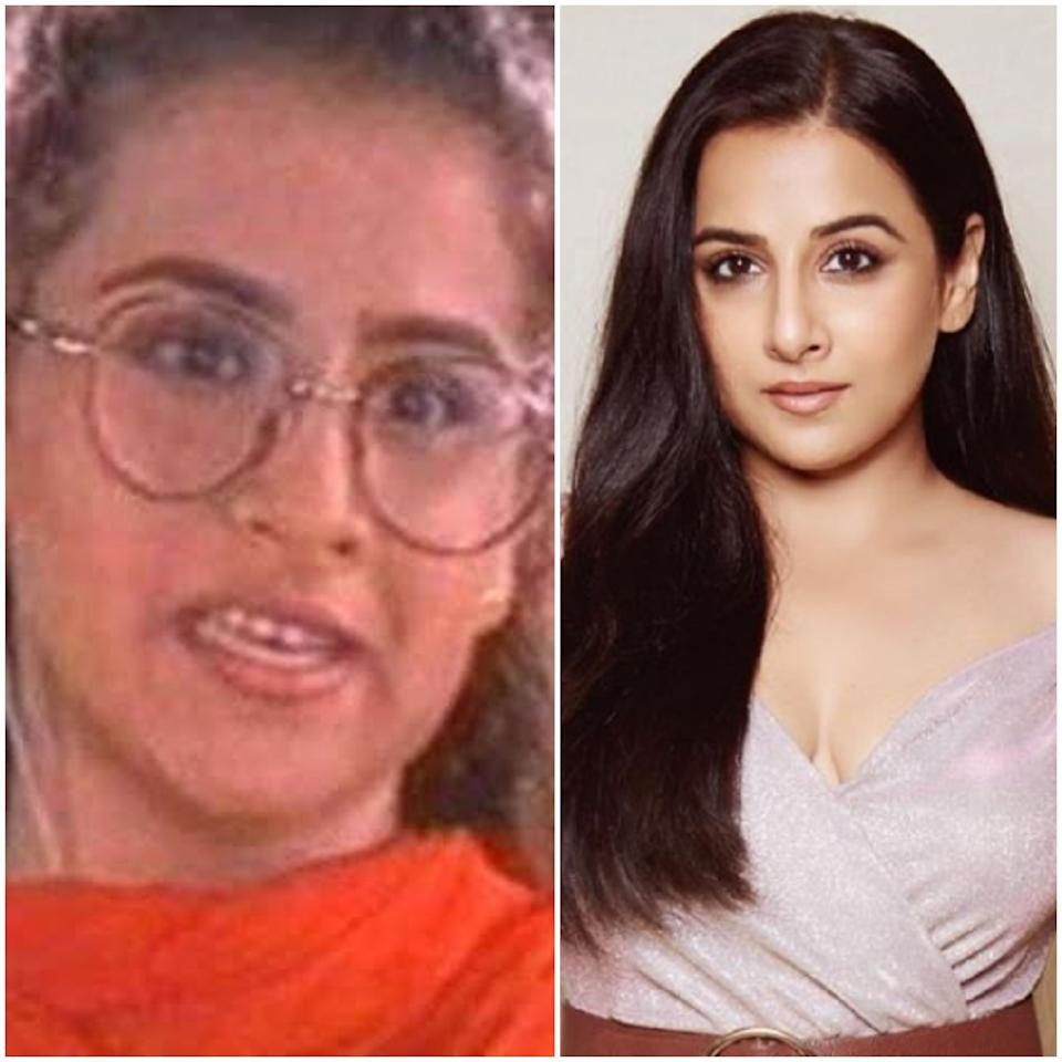 There is a world of difference between the Vidya Balan of <em>Hum Paanch</em> and the <em>Sullu </em>we see today on the silver screen. There is no two ways about the actor's innate craft that has only enhanced with time. But, as evident, she had to invest a lot of time and effort on grooming herself as well. The end result is fabulous.