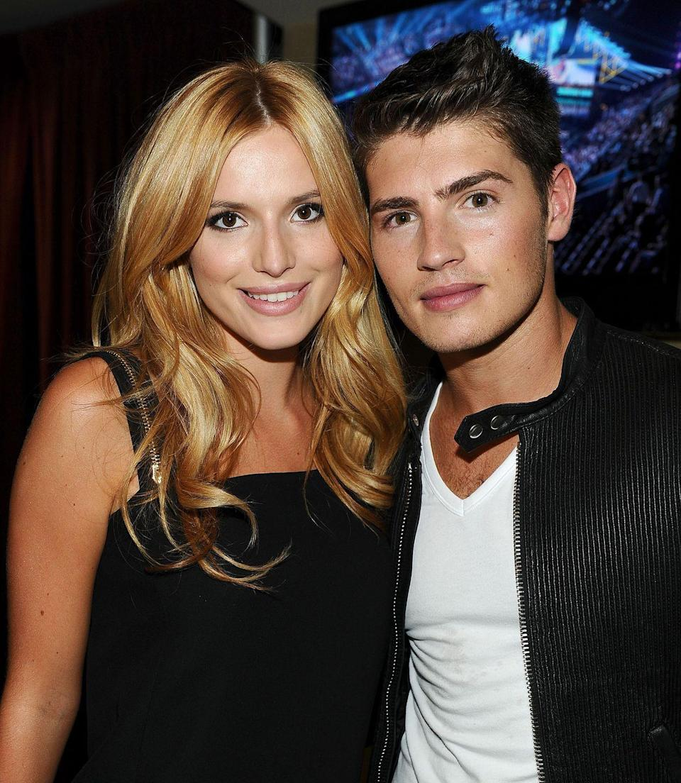"""<p>Remember when Gregg and Bella were a thing? Shortly after their relationship ended, Bella came out as bisexual and began making headlines with Tyler Posey. In September 2016, just as photos of Bella and Tyler making out surfaced, Gregg took to <a href=""""https://twitter.com/greggsulkin/status/777768741601841152"""" rel=""""nofollow noopener"""" target=""""_blank"""" data-ylk=""""slk:Twitter"""" class=""""link rapid-noclick-resp"""">Twitter</a> to seemingly take a dig at his ex: 'Who doesn't enjoy watching entertainment at the circus? Children want attention' he <a href=""""https://twitter.com/greggsulkin/status/777791490164523008"""" rel=""""nofollow noopener"""" target=""""_blank"""" data-ylk=""""slk:wrote"""" class=""""link rapid-noclick-resp"""">wrote</a>.</p>"""