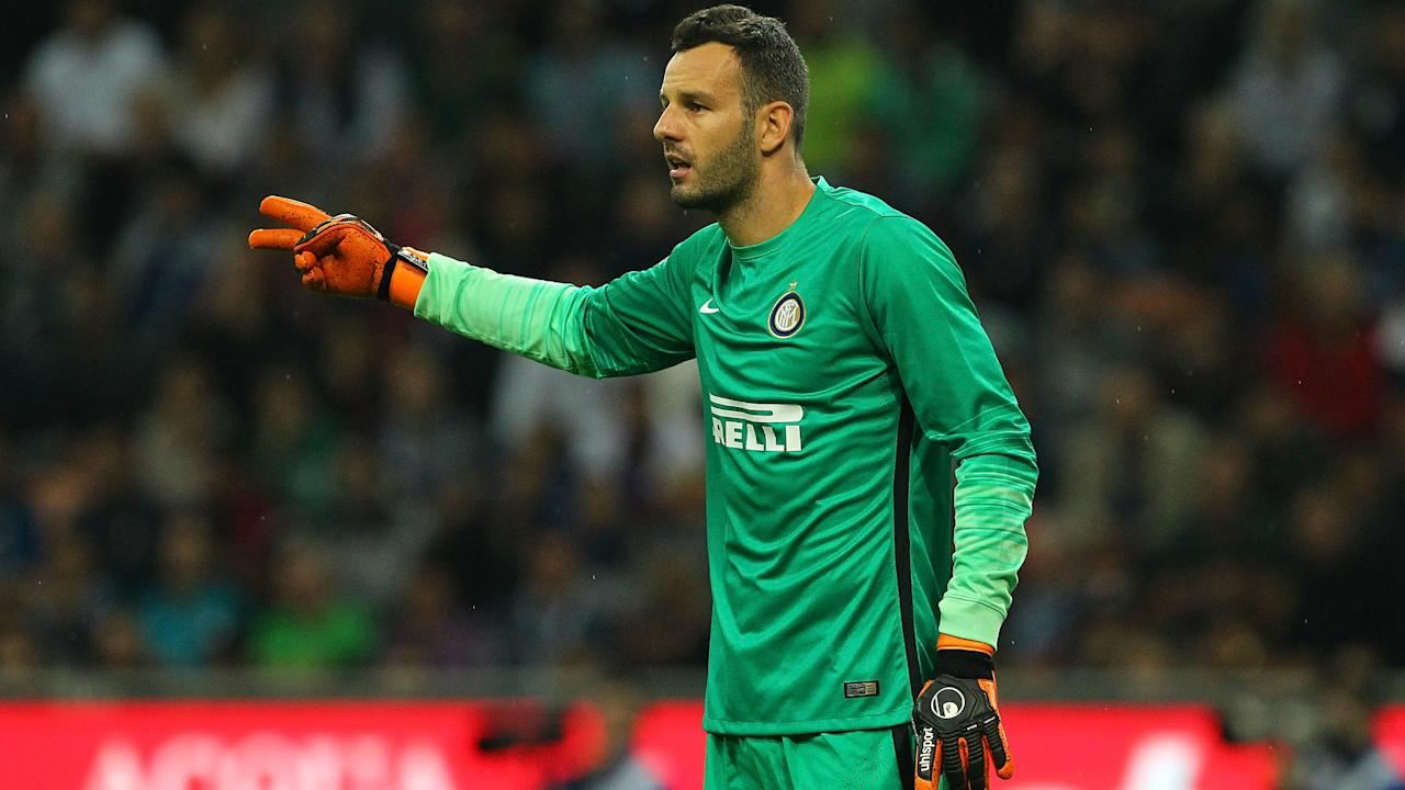 The Slovenia international goalkeeper says he will stay at San Siro regardless of whether qualification for the Champions League is secured or not