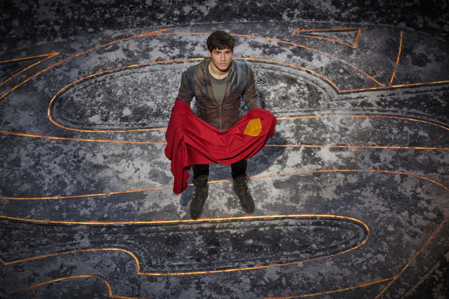 Cameron Cuffe as Seg-El in Syfy's <em>Krypton</em>. (Photo: Gavin Bond/Syfy)
