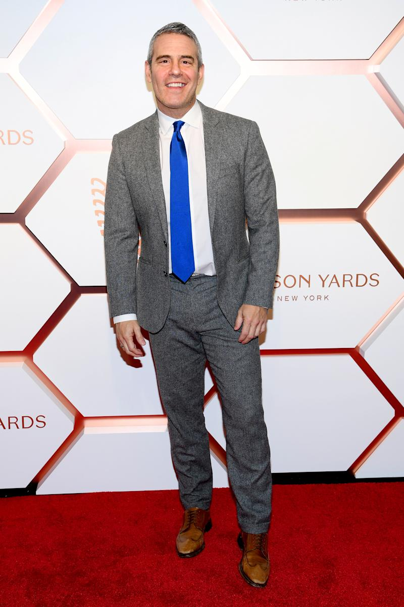 Andy Cohen attends The Shops & Restaurants at Hudson Yards Preview Celebration on March 14, 2019 in New York City.