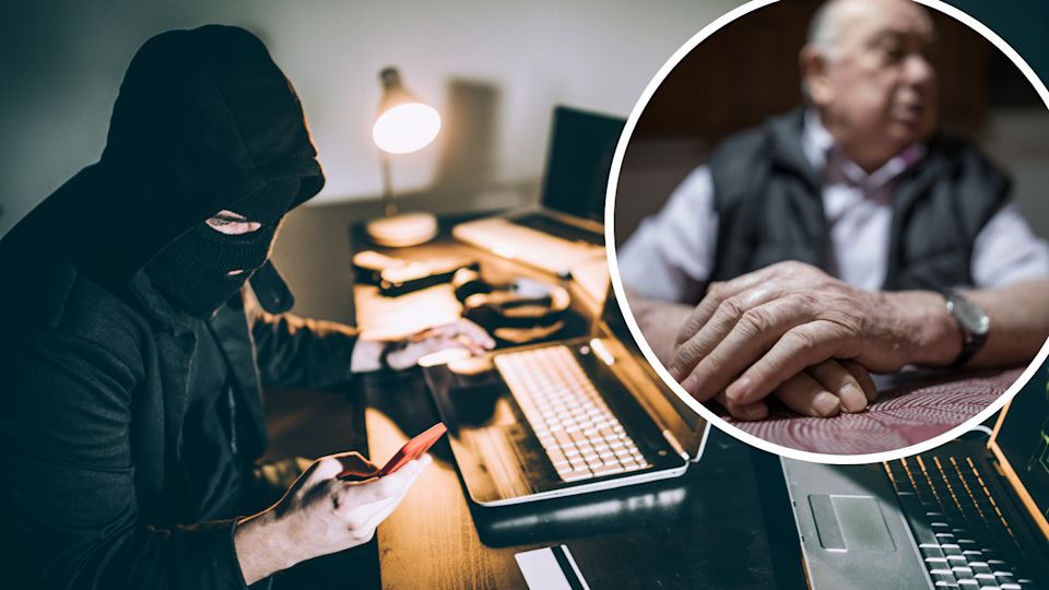 SA Police stopped this man from depositing thousands into the bank account of a scammer. (Source: Getty)