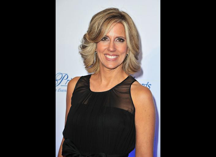 NEW YORK, NY - NOVEMBER 01: TV personality Alisyn Camerota attends MONTBLANC Launches Collection Princesse Grace De Monaco at the Princess Grace Awards Gala at Cipriani 42nd Street on November 1, 2011 in New York City. (Photo by Pascal Le Segretain/Getty Images for MONTBLANC)
