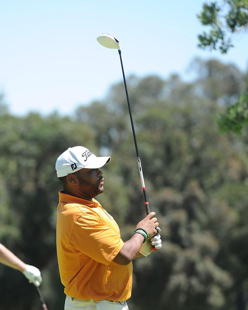 <p>Anthony Anderson attends the Fourth Annual George Lopez Celebrity Golf Classic in 2011.</p>