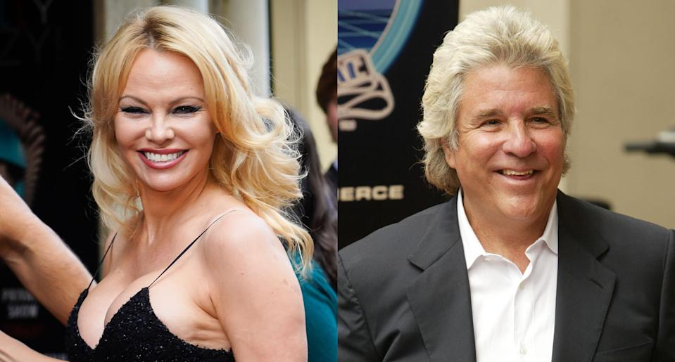 Pamela Anderson and producer Jon Peters have reportedly gotten married. (Photo: Getty Images)