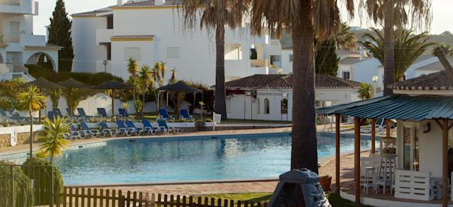 The Ocean Club which is next to Apartment 5A in Praia Da Luz in Portugal, where Madeline McCann went missing in 2007 (AP)