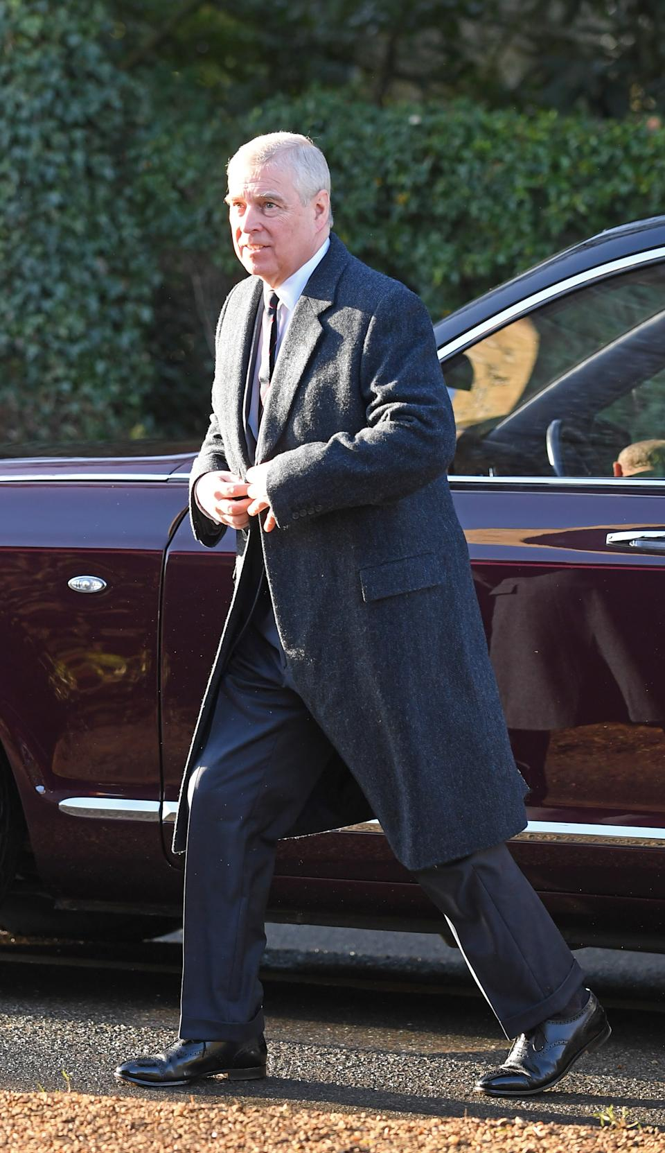 File photo dated 19/1/2020 of the Duke of York. Jeffrey Epstein-accuser Virginia Giuffre has started legal action against the Duke of York and said it was