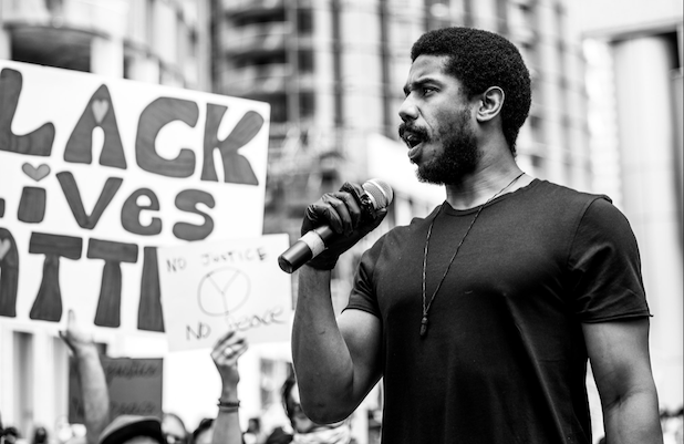 Michael B Jordan Urges Hollywood to 'Commit to Black Hiring' at #BLM Protest