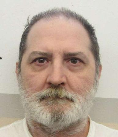 Death row inmate Jeffery Lynn Borden is seen in this undated Alabama Dept of Corrections photo.  Courtesy Alabama Dept of Corrections/Handout via REUTERS
