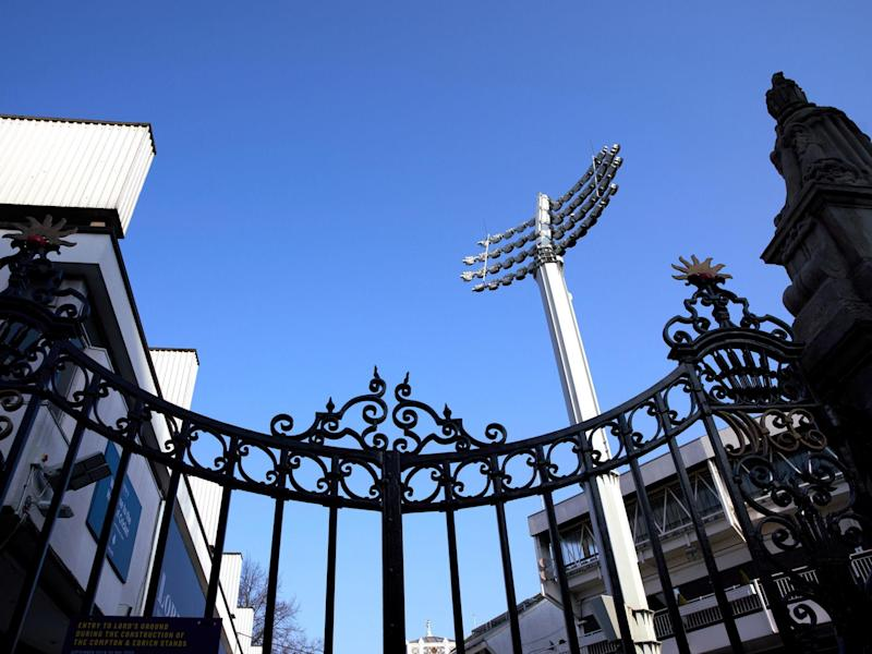 The Grace gates entrance to Lords cricket ground: PA