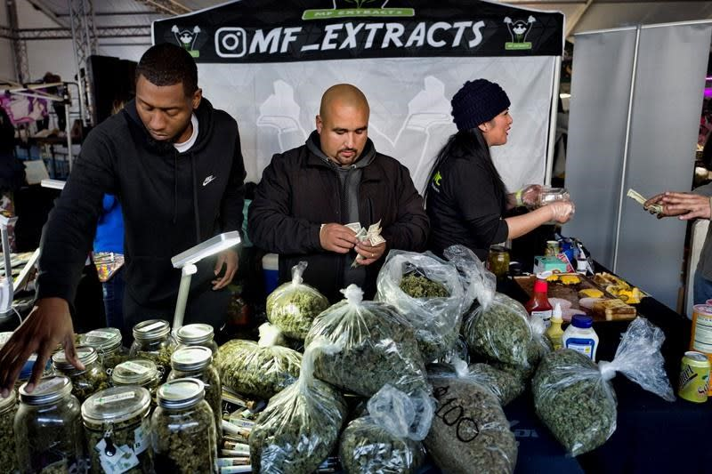 Plan to create special pot banks moves forward in California