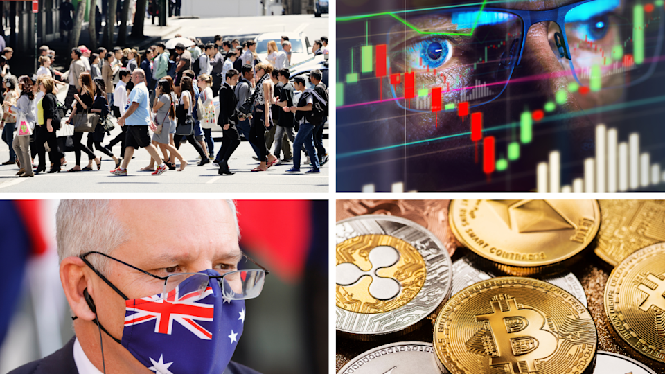 ASX to rise despite NSW's ongoing COVID-19 crisis. Source: Getty/Yahoo Finance