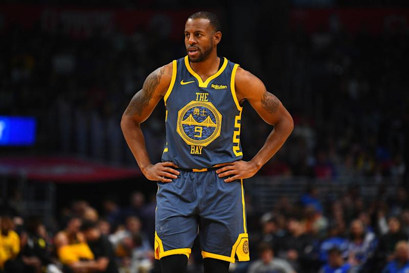 31abb24f449 Andre Iguodala, 34, is in his sixth season with the Golden State Warriors.  (Getty Images)