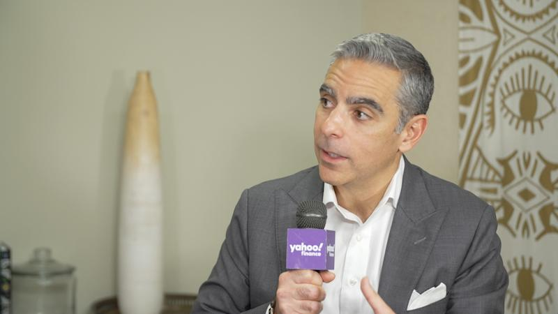 David Marcus, head of Calibra, speaks with Yahoo Finance on October 15.