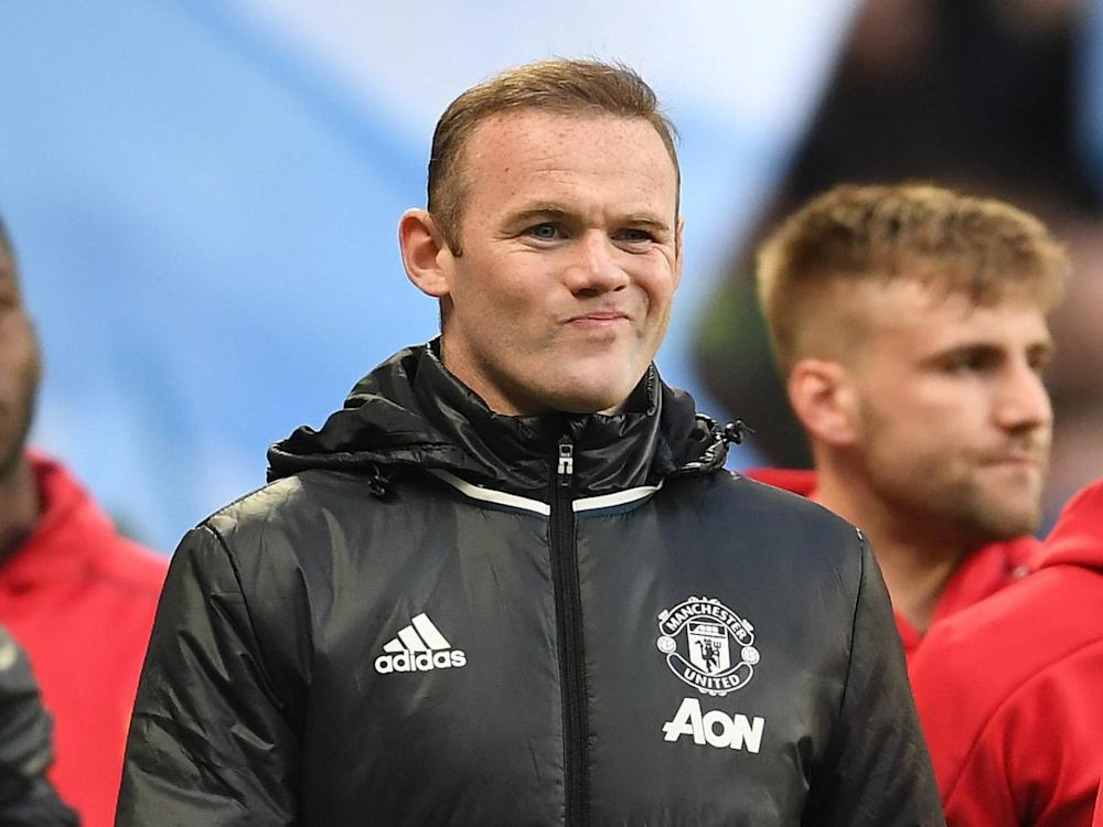 Wayne Rooney looks like he has played his last Manchester derby (Getty)