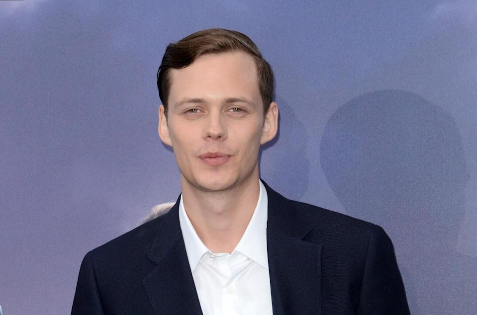 <p>Given he's already causing nightmares as Pennywise in the upcoming 'It,' the 27-year old Swedish actor might have had his fill of evil white-faced clowns. Even so, he seems a very likely candidate for a young Joker. (Picture credit: Ivan Nikolov/WENN.com) </p>
