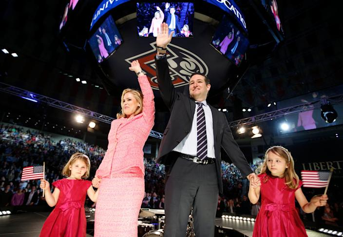 ted and heidi cruz
