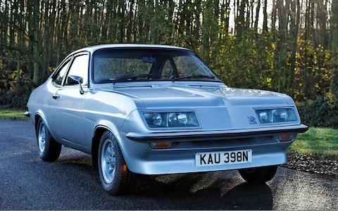 Vauxhall Firenza HP 'Droop Snoot'