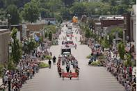 <p>Nothing beats a small town parade on a sunny day, like this one in Charleston, West Virginia. </p>