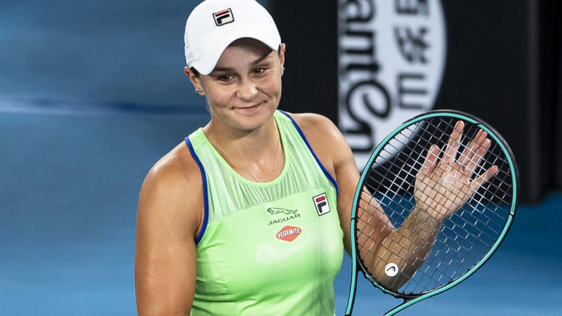 All Class Ash Barty S Brilliant Act For Embarrassed Ball
