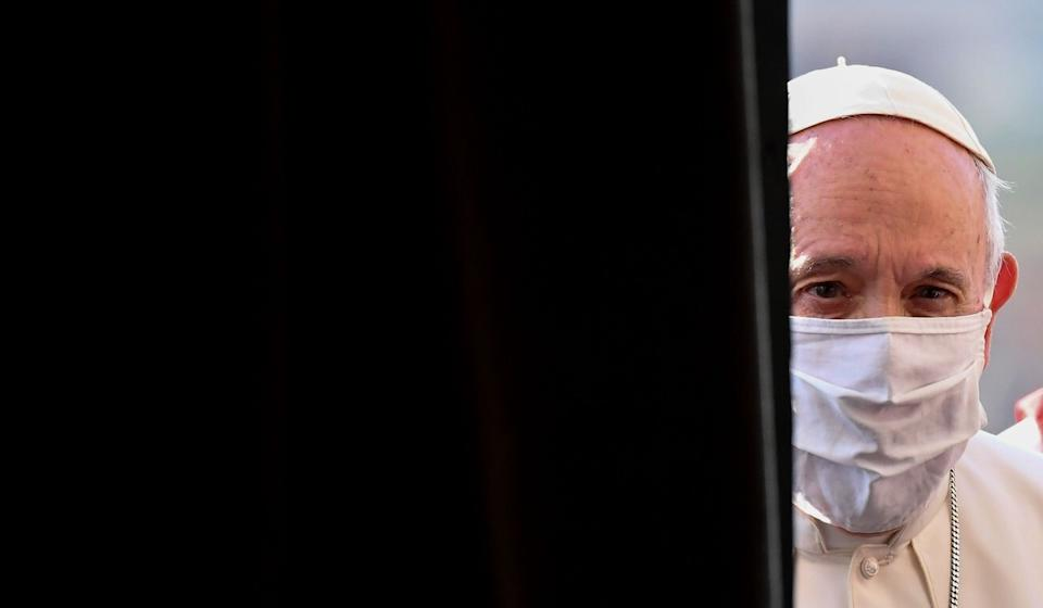 Pope Francis has been criticised by some of his own cardinals over the agreement. Photo: AFP