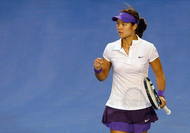 Li Na, pictured during the women's singles final of the Australian Open in Melbourne, against Victoria Azarenka, on January 26, 2013. The former French Open champion came up short against world No. 1 Azarenka but predicts another two years at the top of the women's game