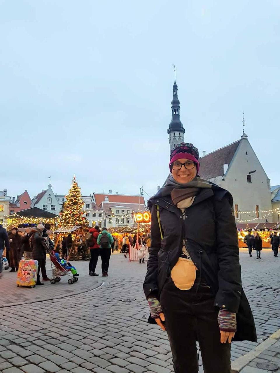 Laura in Tallinn. PA REAL LIFE COLLECT