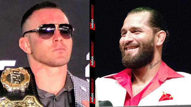 Jorge Masvidal And Colby Covington Say They Ll Step In With Gilbert Burns Out Of Ufc 251