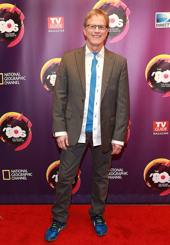 "Alan Hunter attends Nat Geo's ""The '80s: The Decade That Made Us"" New York Premiere at Culture Club on April 9, 2013 in New York City."