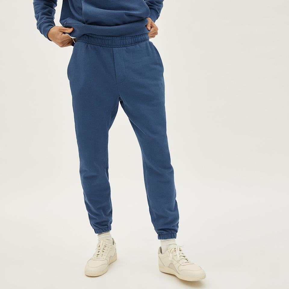 The Track Pant. Image via Everlane.