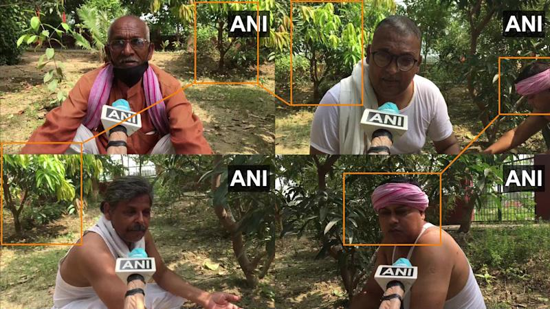 ANI's interview with farmers (Photo: HuffPost India )