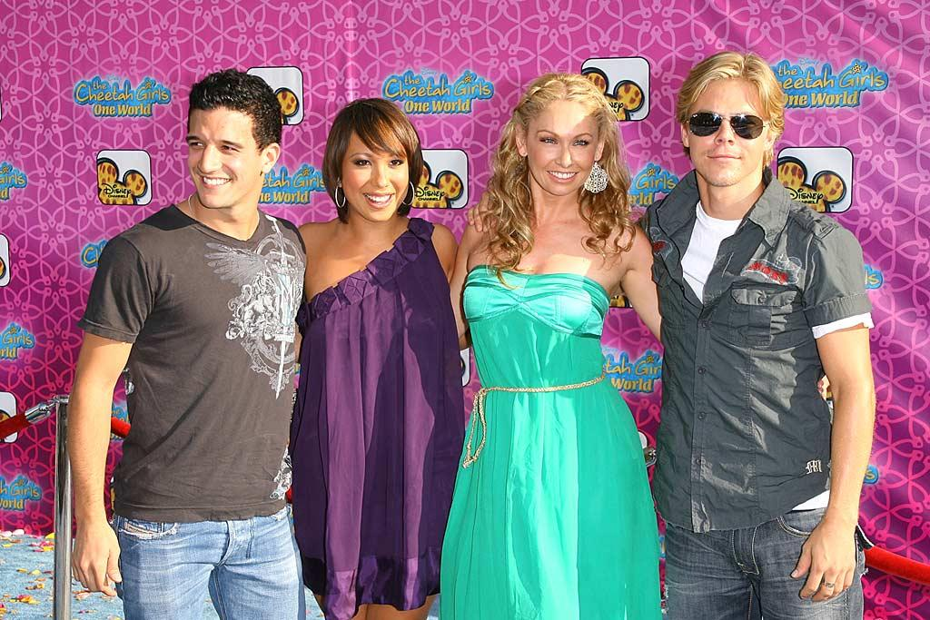 "Several ""Dancing With the Stars"" pros, including Mark Ballas, Cheryl Burke, Kym Johnson, and Derek Hough, came out in full force to support former ""Dancing"" contestant Sabrina Bryan. Michael Tran/<a href=""http://www.filmmagic.com/"" target=""new"">FilmMagic.com</a> - August 12, 2008"