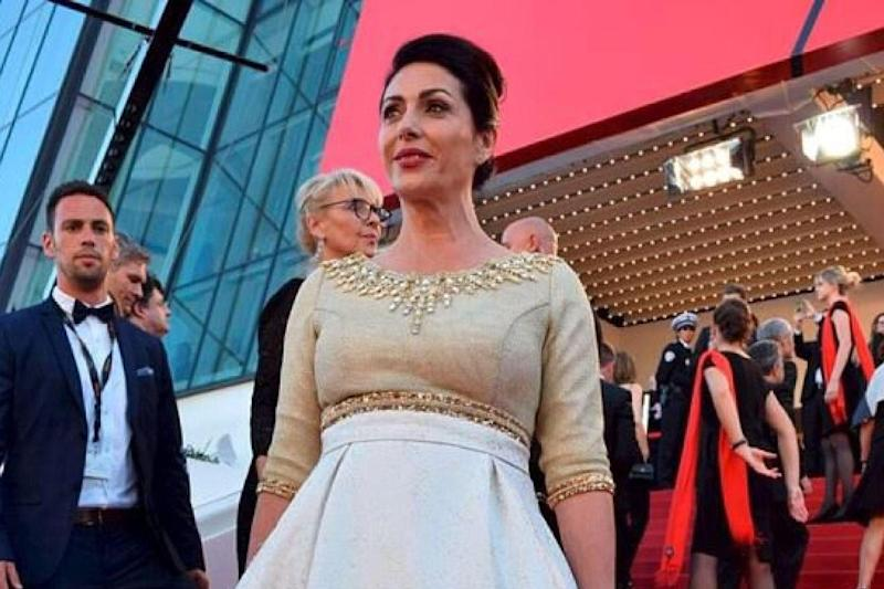 The fashion house which designed the dress Ms Regev wore in 2016 reportedly refused to make a dress to her specifications this year: Eli Sabati/Facebook
