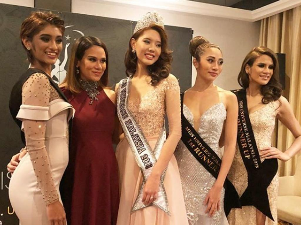 Jane Teoh has been crowned as the new Miss Universe Malaysia at a ceremony held yesterday