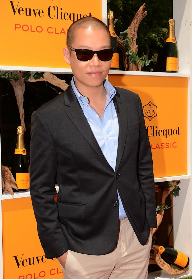 JERSEY CITY, NJ - JUNE 02:  Designer Jason Wu attends the fifth annual Veuve Clicquot Polo Classic on June 2, 2012 in Jersey City.  (Photo by Andrew H. Walker/Getty Images for Veuve Clicquot Polo Classic)