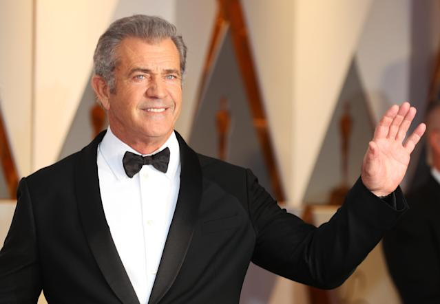Less than a decade after going on an anti-Semitic rant at a police officer, and later being caught abusing his then-girlfriend, actor and director Mel Gibson received an Oscar nomination. (Mike Blake/Reuters)
