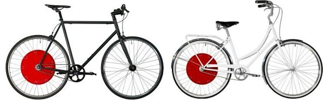 You can also buy a complete bike in various styles.