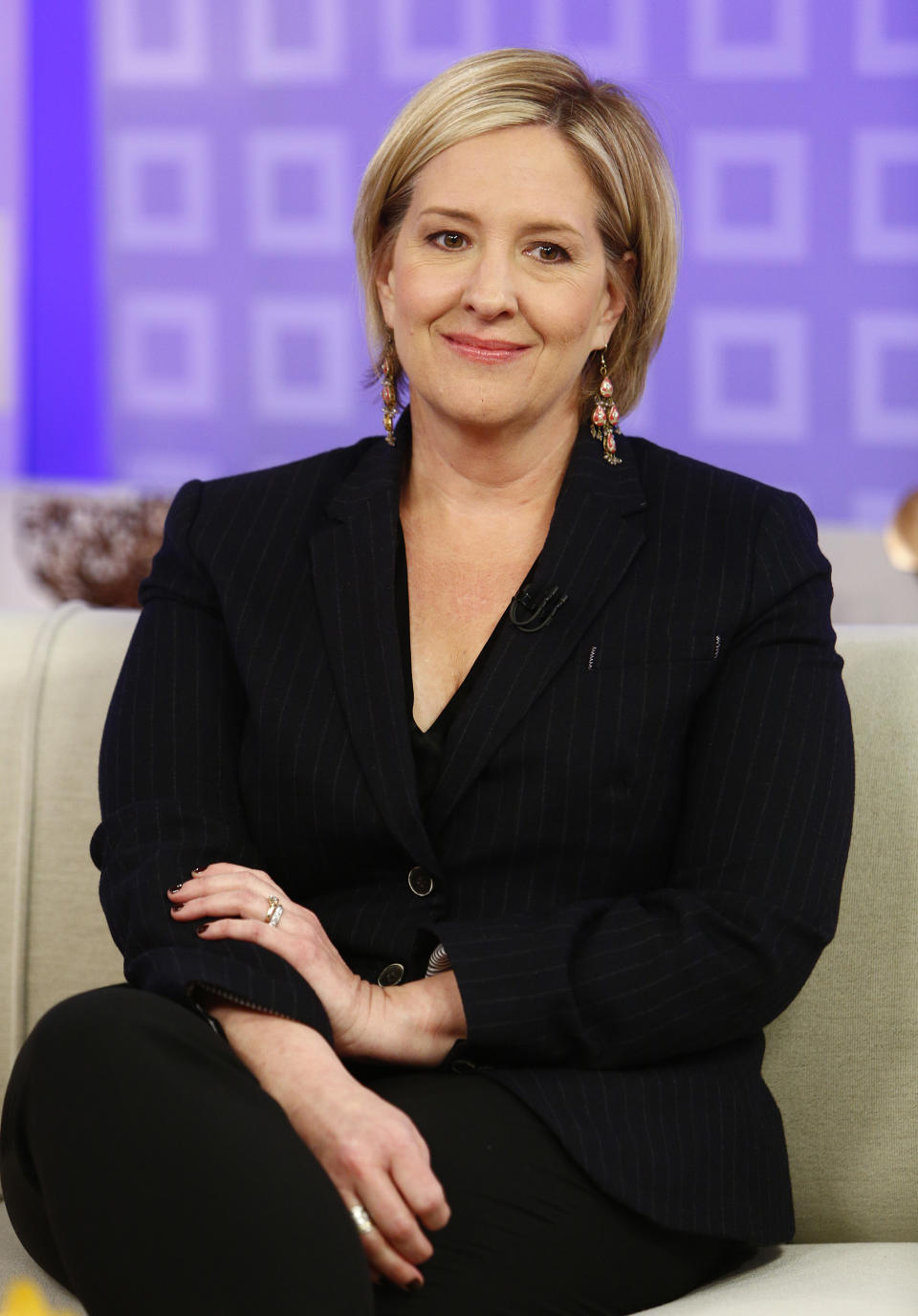 "TODAY -- Pictured: Brene Brown appears on NBC News' ""Today"" show -- (Photo by: Peter Kramer/NBC/NBC Newswire/NBCUniversal via Getty Images)"