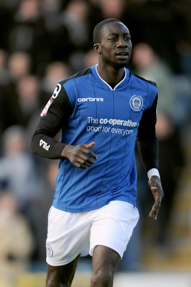 Kevin Amankwaah, who signed on a short-term deal in January, looks set to leave Rochdale